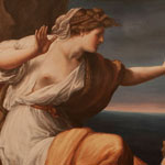 Ariadne , die von Theseus verlassene